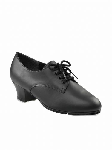 "Capezio West End Tap Shoes 1.5"" Cuban Heel Fitted TeleTone Toe and Heel Taps"
